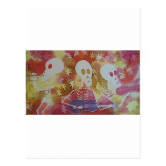 3 músicos tarjetas postales