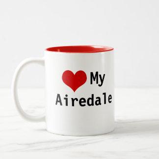 <3 My Airedale Mug