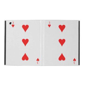 3 of Hearts iPad Cover