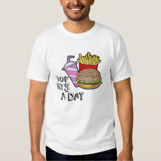 3 of my 5 a day t-shirt