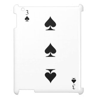 3 of Spades Case For The iPad