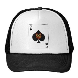 3 of Spades Hat