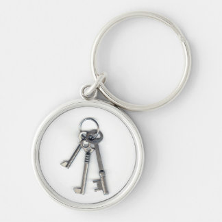 3 Old Keys Keychain
