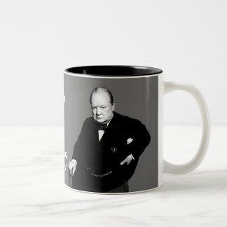 #3 - On Having Enemies Two-Tone Coffee Mug