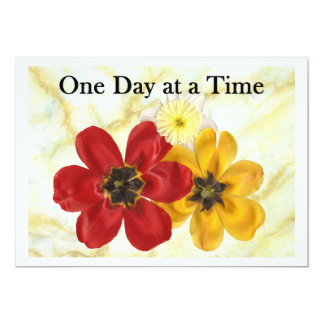 3 One Day at a Time Card