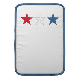 3 Origami Stars – Red, White, and Blue MacBook Air Sleeves