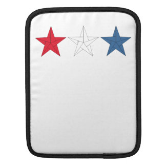 3 Origami Stars – Red, White, and Blue iPad Sleeves