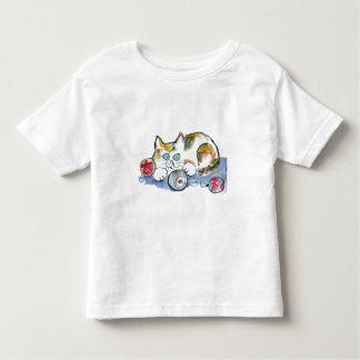 3 Ornaments & Calico Kitty Toddler T-shirt