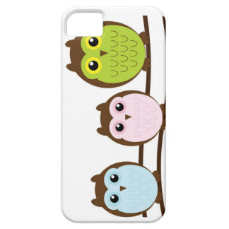 3 Owls on a Tree iPhone SE/5/5s Case