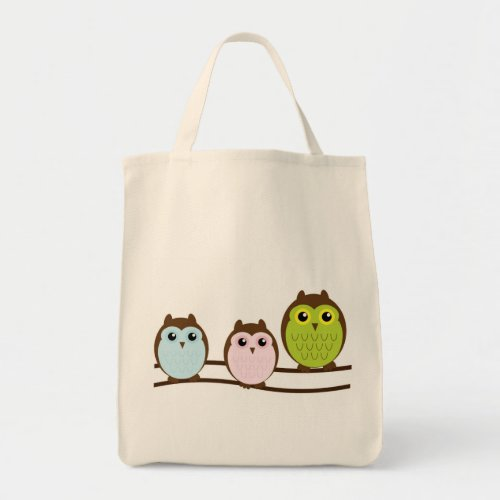 3 Owls Tote Bag