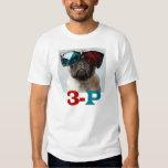3-P 3D PUG LOVE TSHIRT