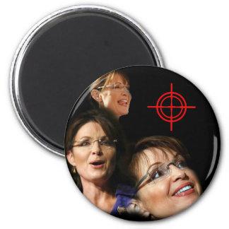 3 Palin Bullseye 2 Inch Round Magnet