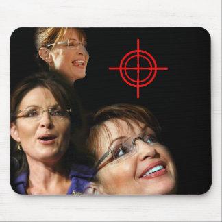 3 Palin Bullseye Mouse Pad