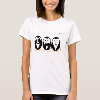 3 penguins women T-shirt