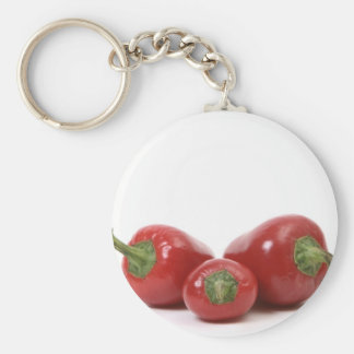 3 Peppers Keychain