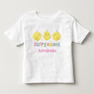 3 pequeñas camisetas de los polluelos playera