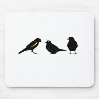 3 pequeños pájaros por el erndub tapete de ratón