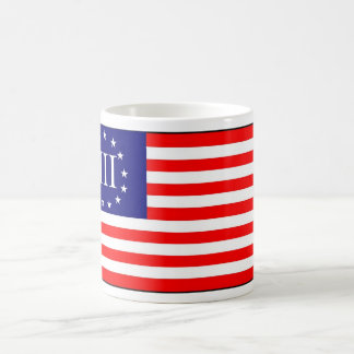 3 Percent Flag Classic White Coffee Mug