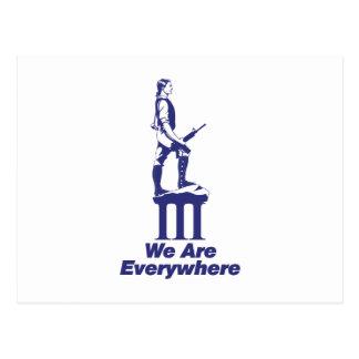 3 Percent Minuteman Postcard