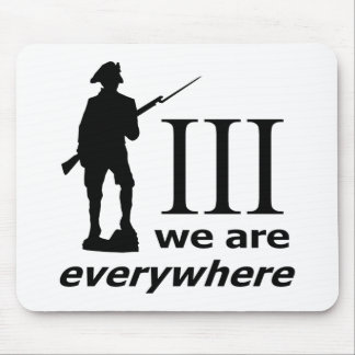 3 Percent, We Are Everywhere Mouse Pad