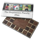 3-Photo film strip personalized photo Assorted Chocolates