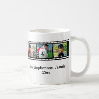 3-Photo film strip personalized photo Mugs