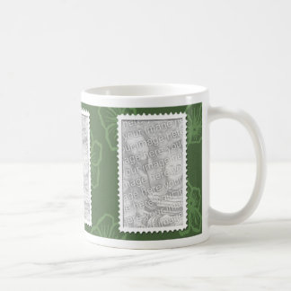 3 Photo Olive Template Mug