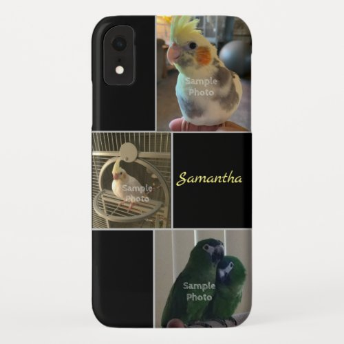 3 Photo Personalized Phone Case
