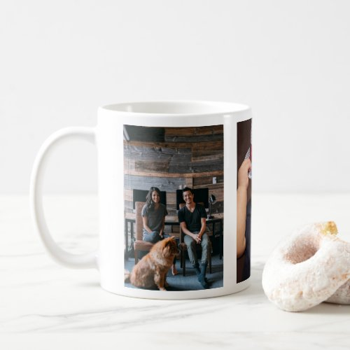 3 Photo Template Personalized Coffee Mug
