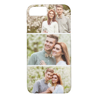 3 Photos | Custom Photo Collage iPhone 7 Case