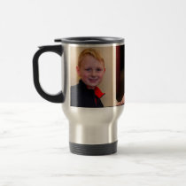3 Pictures Personalized Travel Mugs or Regular Mug