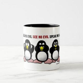 3 pingüinos sabios tazas