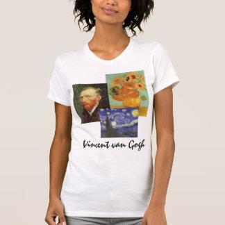 3 pinturas famosas del arte de Van Gogh de diverso Tshirt