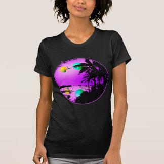 3 planetas sobre paraíso camisetas