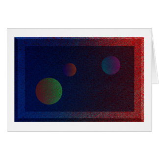 3 Planets Card