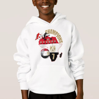 3 players 2010 soccer Champions Egypt gifts Hoodie