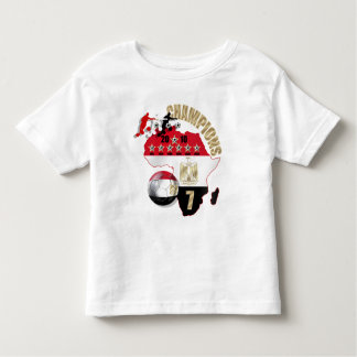 3 players 2010 soccer Champions Egypt gifts Toddler T-shirt