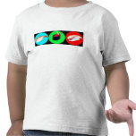 3 poca camiseta de Sushies