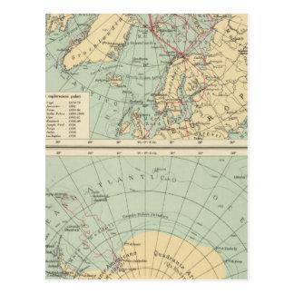 3 Polar Lands Postcard