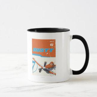 3 polvorientos taza