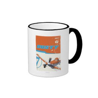 3 polvorientos taza de café