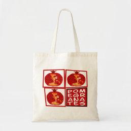 3 Pomegranate fruits Bag