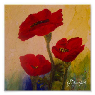 3 Poppies Posters