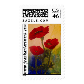 3 Poppies Stamp