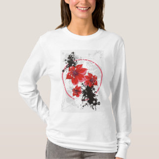 3 Pretty Flowers - Color T-Shirt