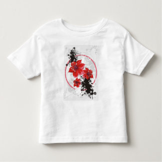 3 Pretty Flowers - Color Toddler T-shirt