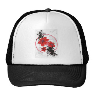 3 Pretty Flowers - Color Trucker Hat