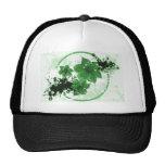 3 Pretty Flowers - Green Hats