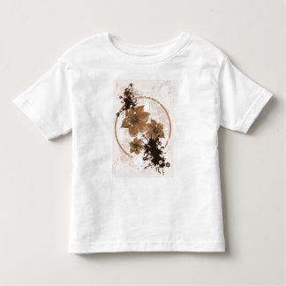 3 Pretty Flowers - Sepia Toddler T-shirt