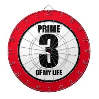 3 - prime of my life dartboard